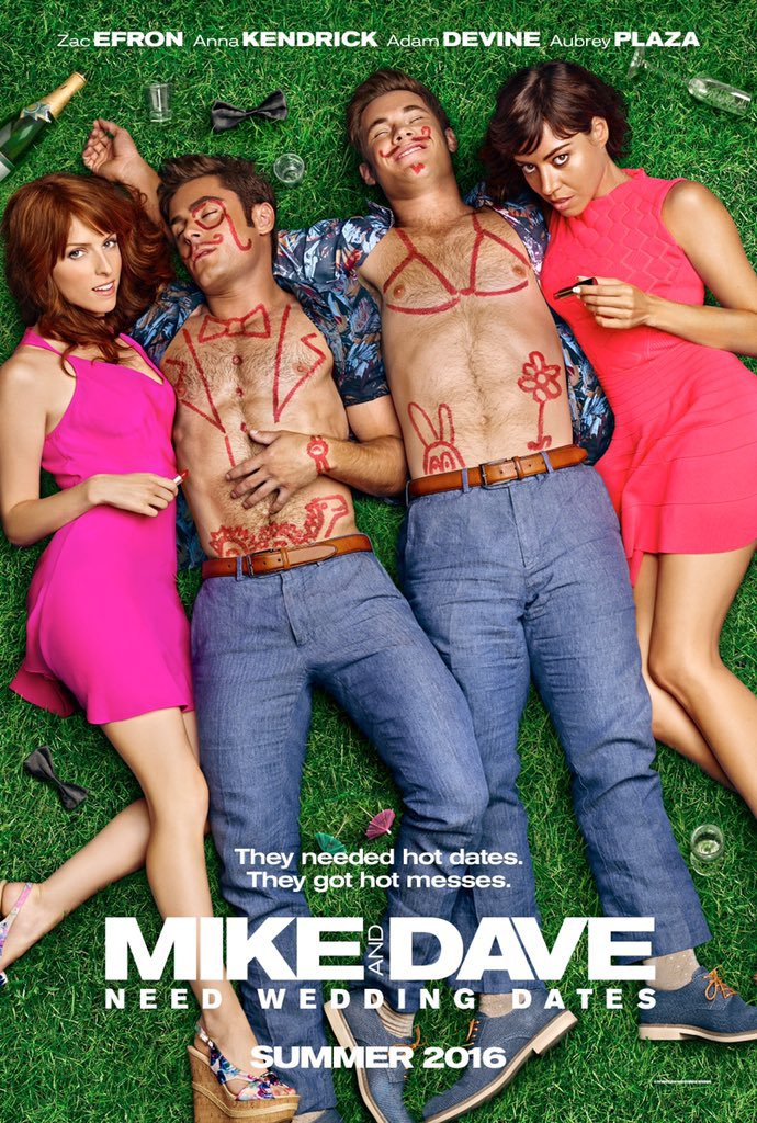 Mike and Dave Need Wedding Dates (2016) Technical Specifications