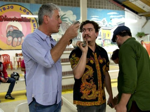 """Anthony Bourdain: Parts Unknown"" Colombia Technical Specifications"