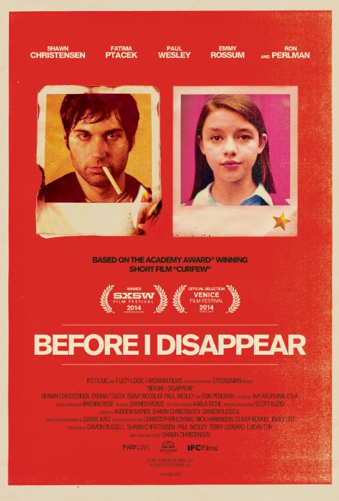 Before I Disappear | ShotOnWhat?