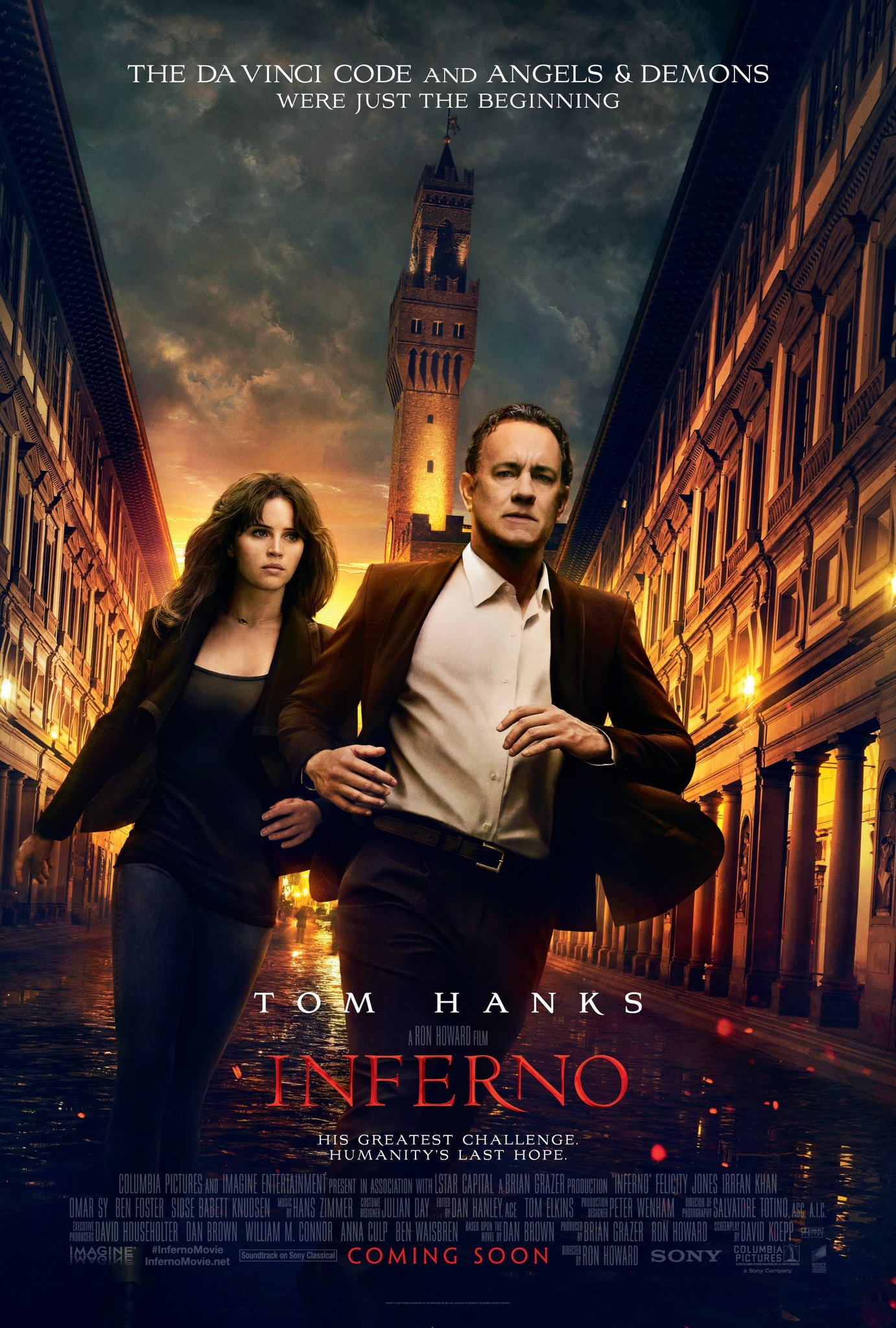 Inferno (2016) Technical Specifications