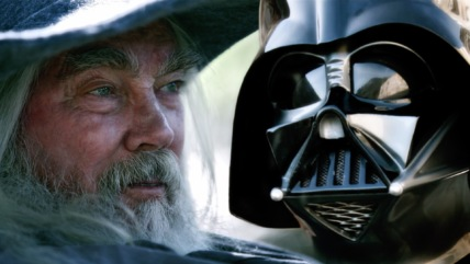 """Super Power Beat Down"" Darth Vader vs. Gandalf 