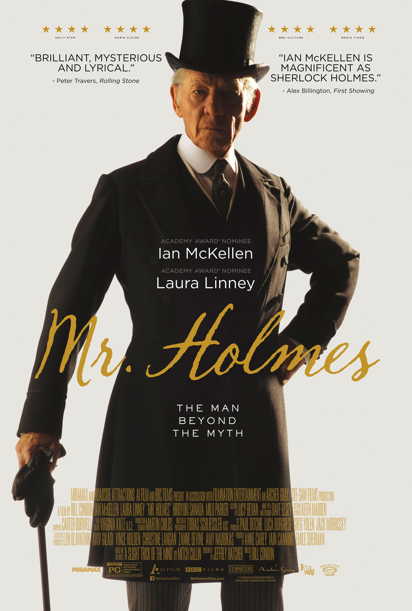 Mr. Holmes (2015) Technical Specifications