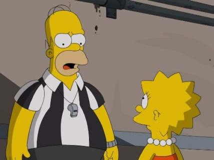 """The Simpsons"" You Don't Have to Live Like a Referee Technical Specifications"