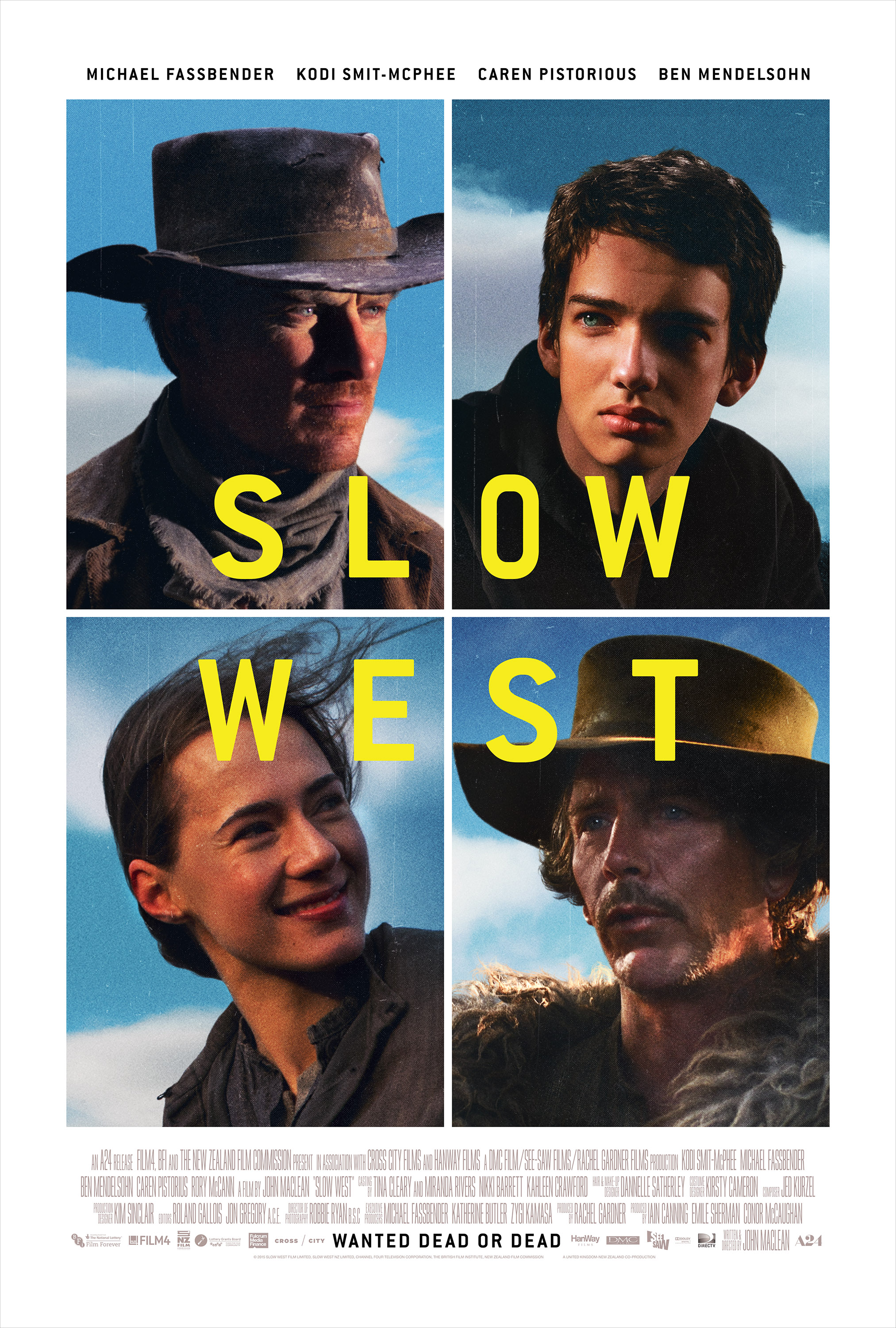 Slow West (2015) Technical Specifications