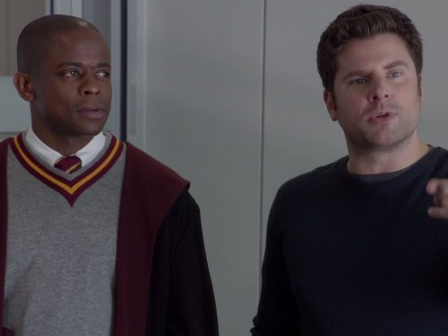"""Psych"" Lock, Stock, Some Smoking Barrels and Burton Guster's Goblet of Fire 