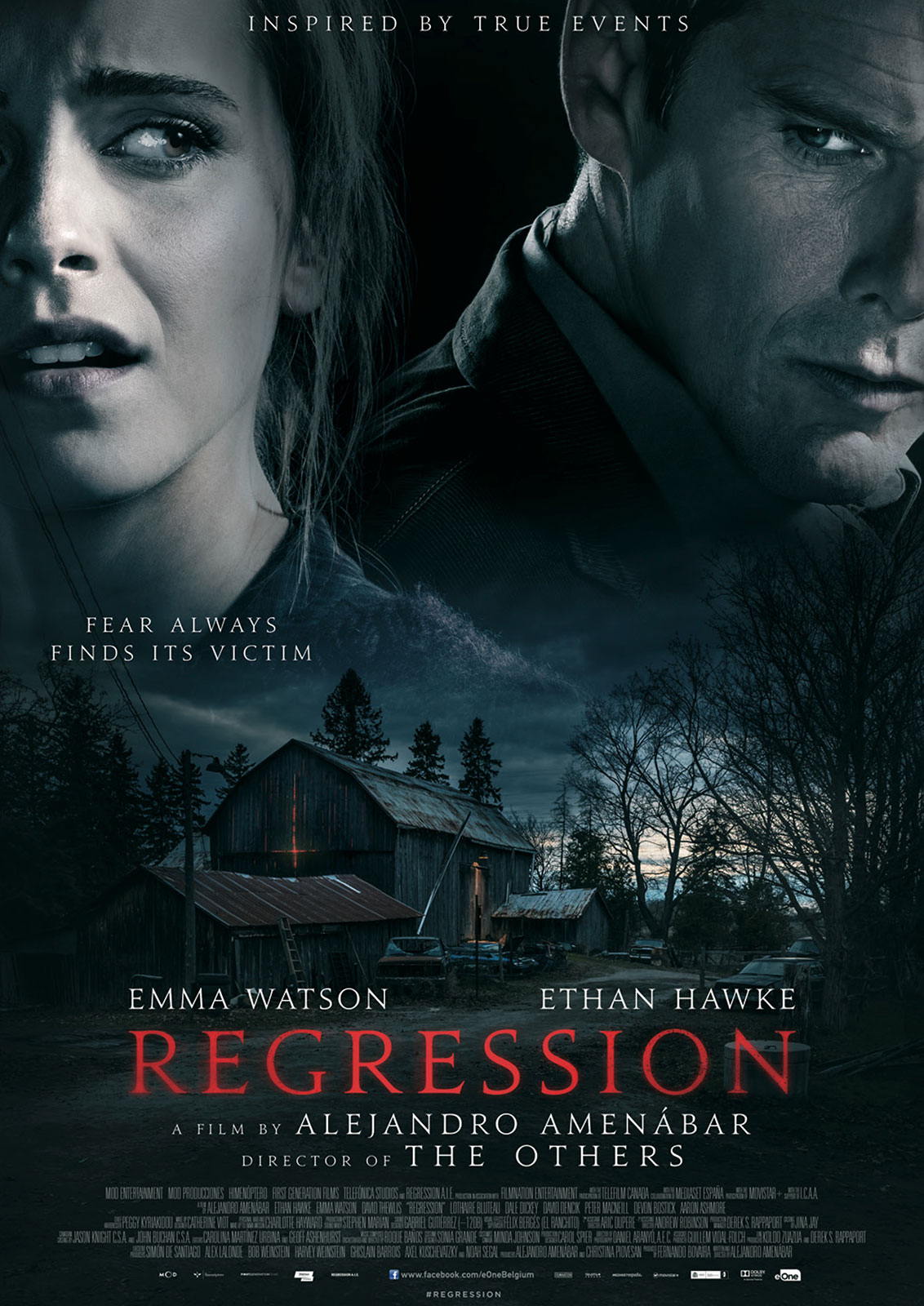 Regression (2015) Technical Specifications