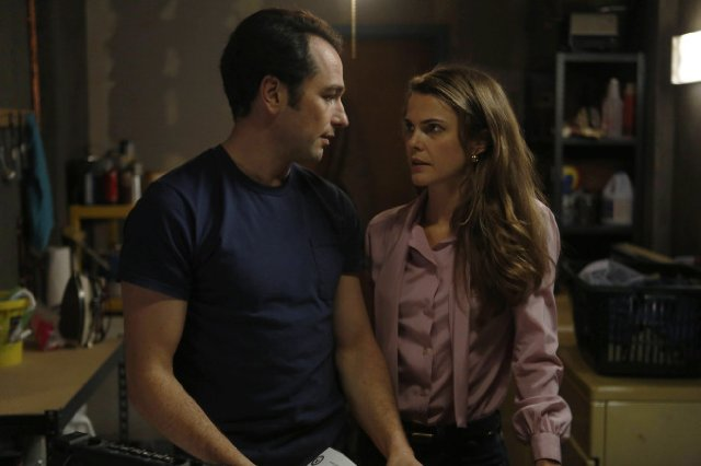 """The Americans"" Behind the Red Door 