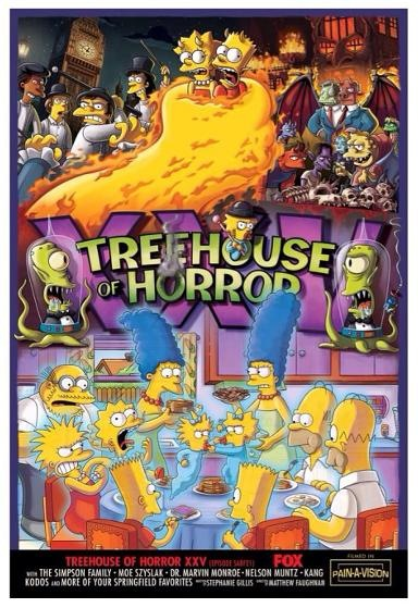 """The Simpsons"" Treehouse of Horror XXV Technical Specifications"