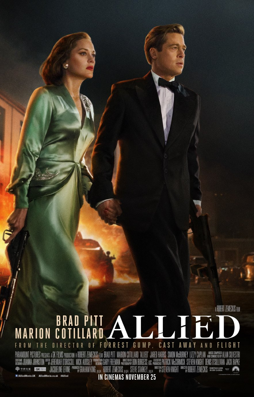 Allied (2016) Technical Specifications