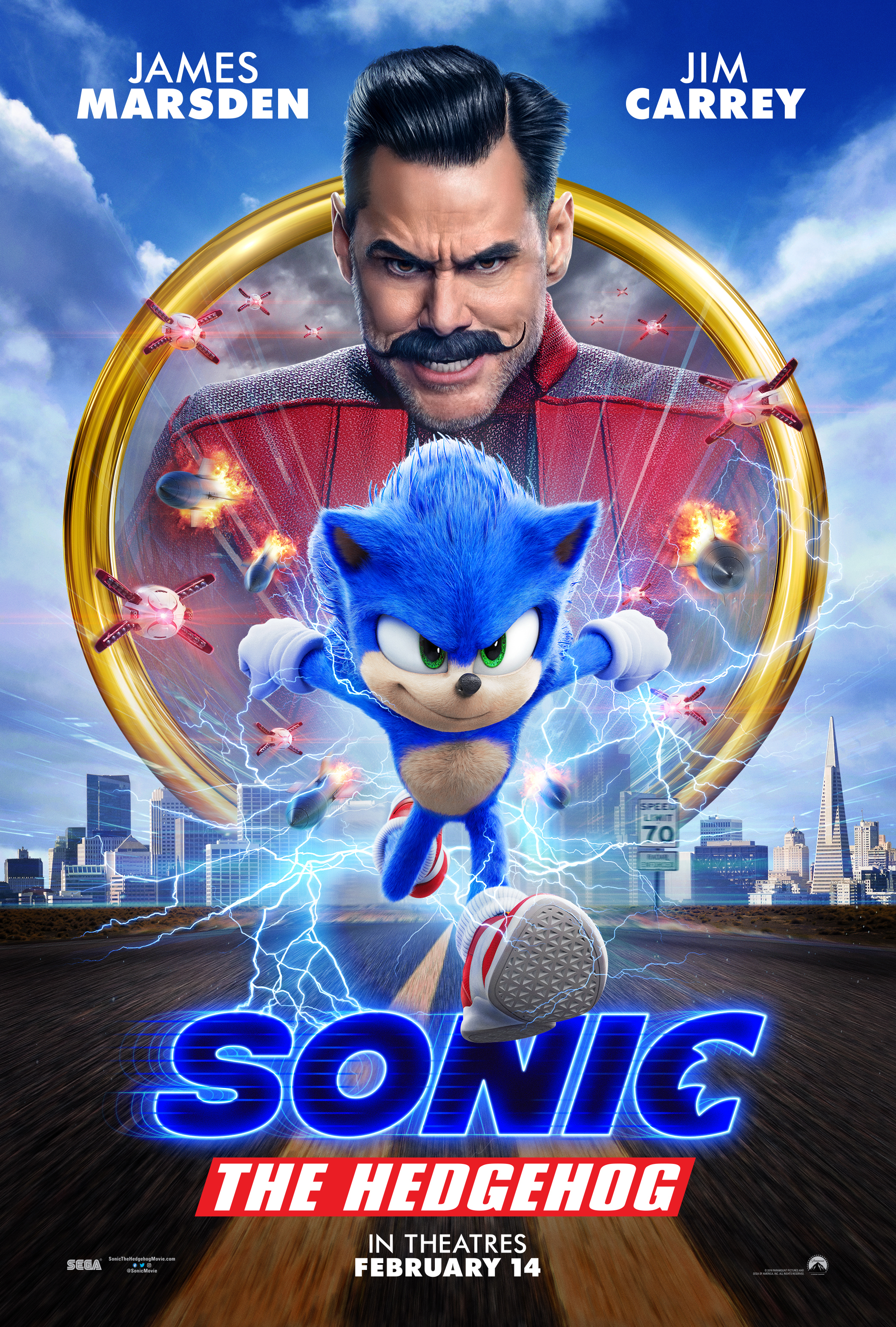 Sonic the Hedgehog (2020)  Technical Specifications