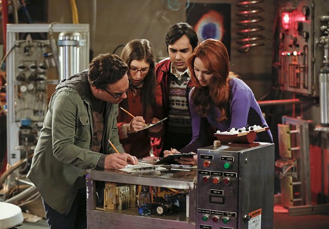 """The Big Bang Theory"" The Intimacy Acceleration Technical Specifications"