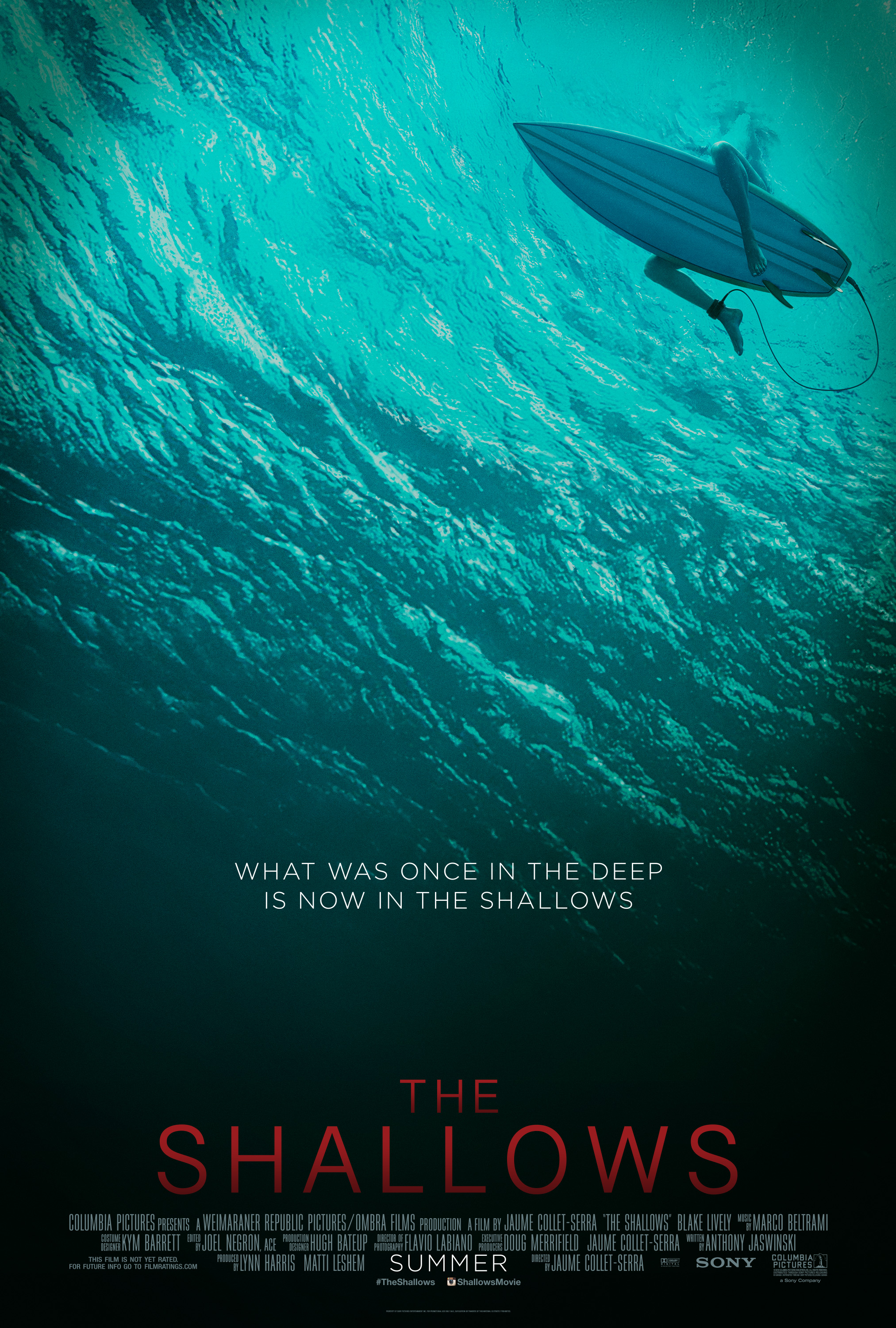 The Shallows (2016) Technical Specifications