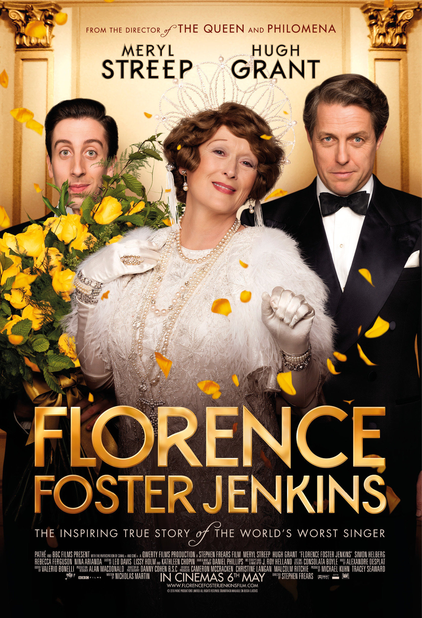 Florence Foster Jenkins (2016) Technical Specifications