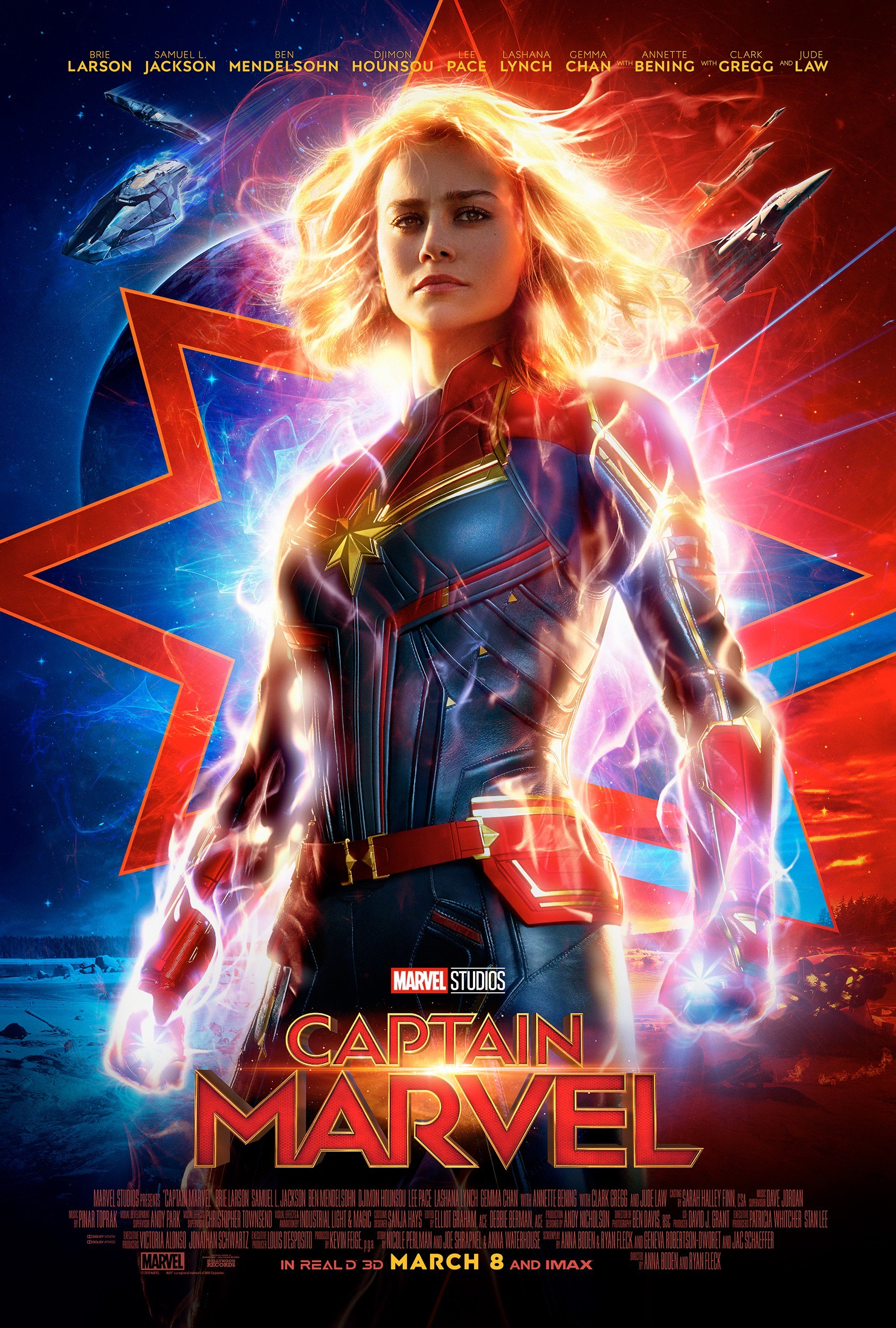 Captain Marvel (2019)  Technical Specifications