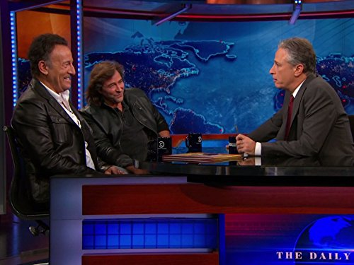 """The Daily Show"" Bruce Springsteen & Frank Caruso"