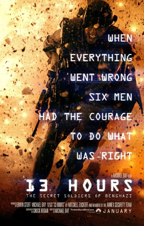 13 Hours: The Secret Soldiers of Benghazi (2016) Technical Specifications