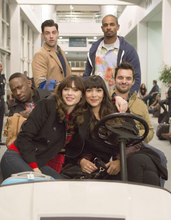 """New Girl"" LAXmas 