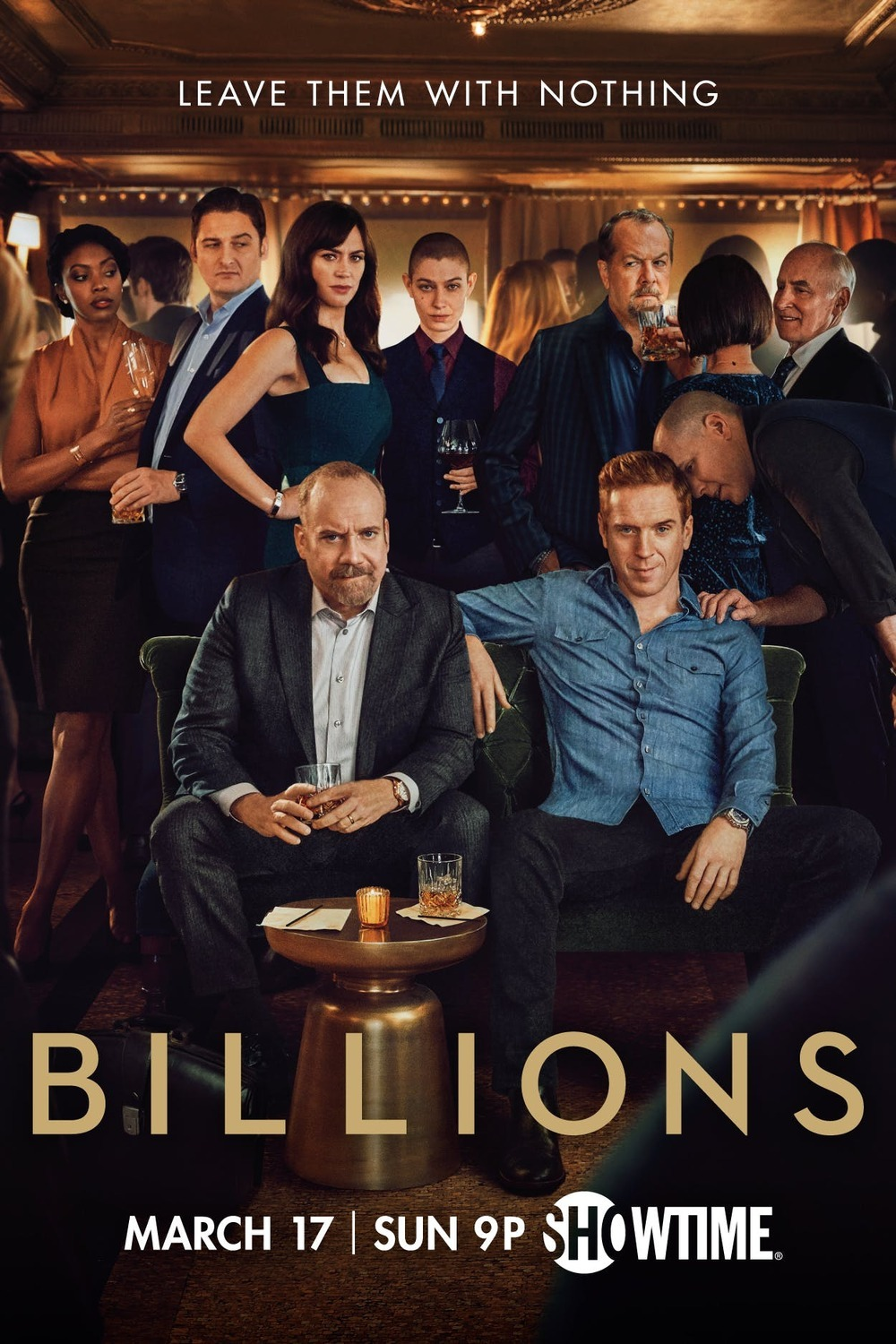 Billions Technical Specifications