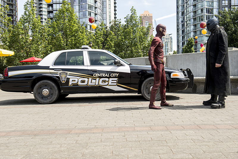"""The Flash"" The Man Who Saved Central City 
