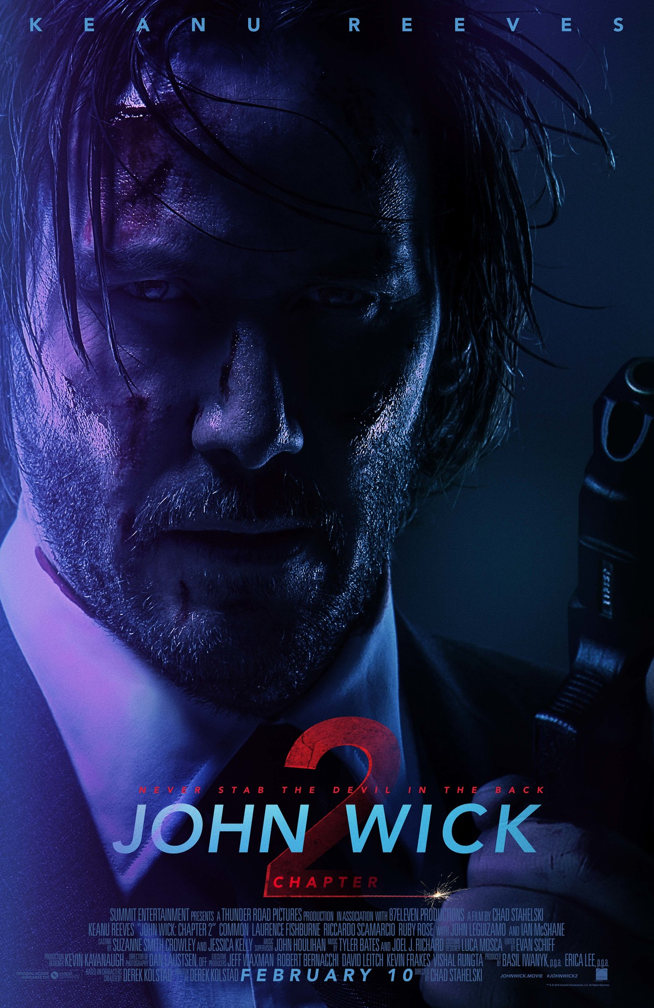 John Wick: Chapter 2 (2017) Technical Specifications