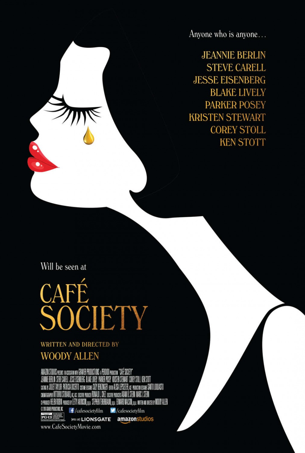 Café Society (2016) Technical Specifications