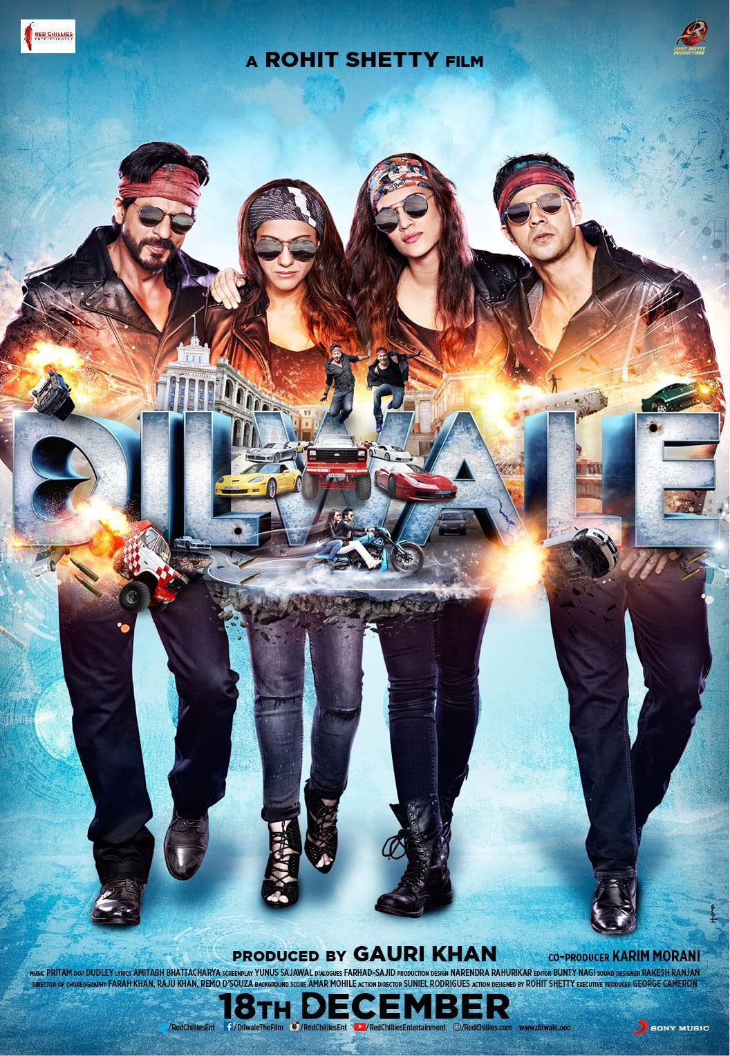 Dilwale (2015) Technical Specifications
