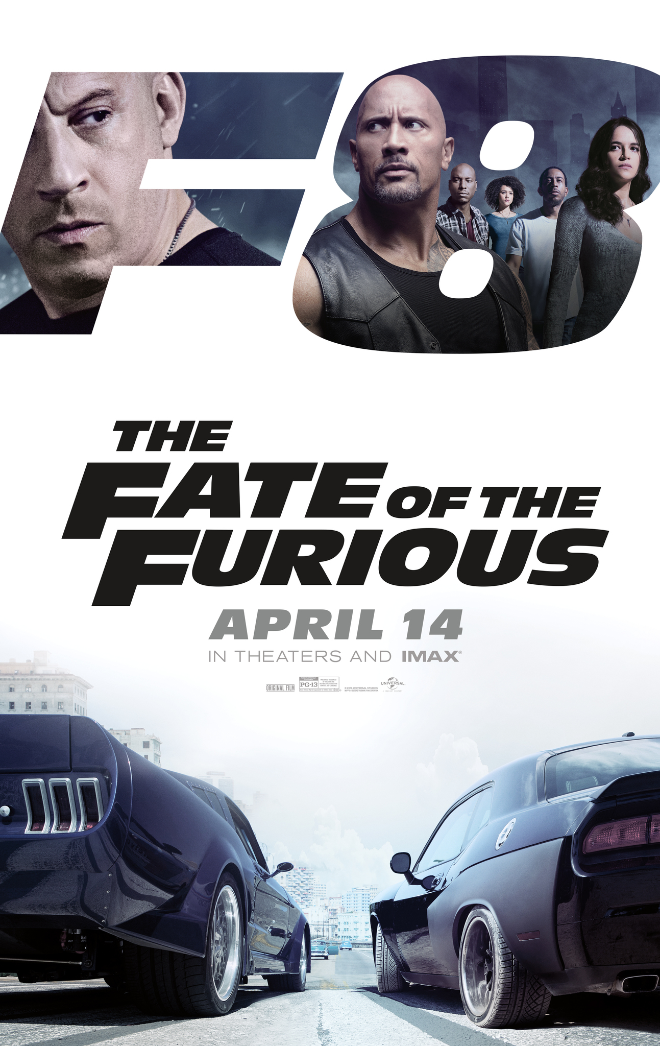 Fast 8 (2017) Technical Specifications