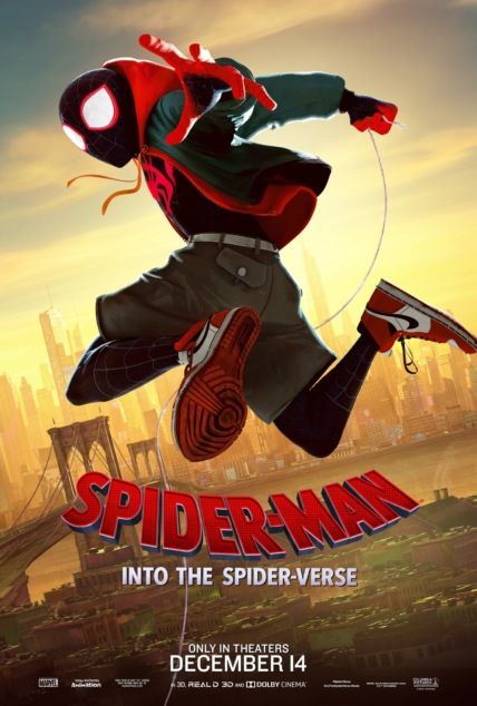 Spider-Man: Into the Spider-Verse Technical Specifications