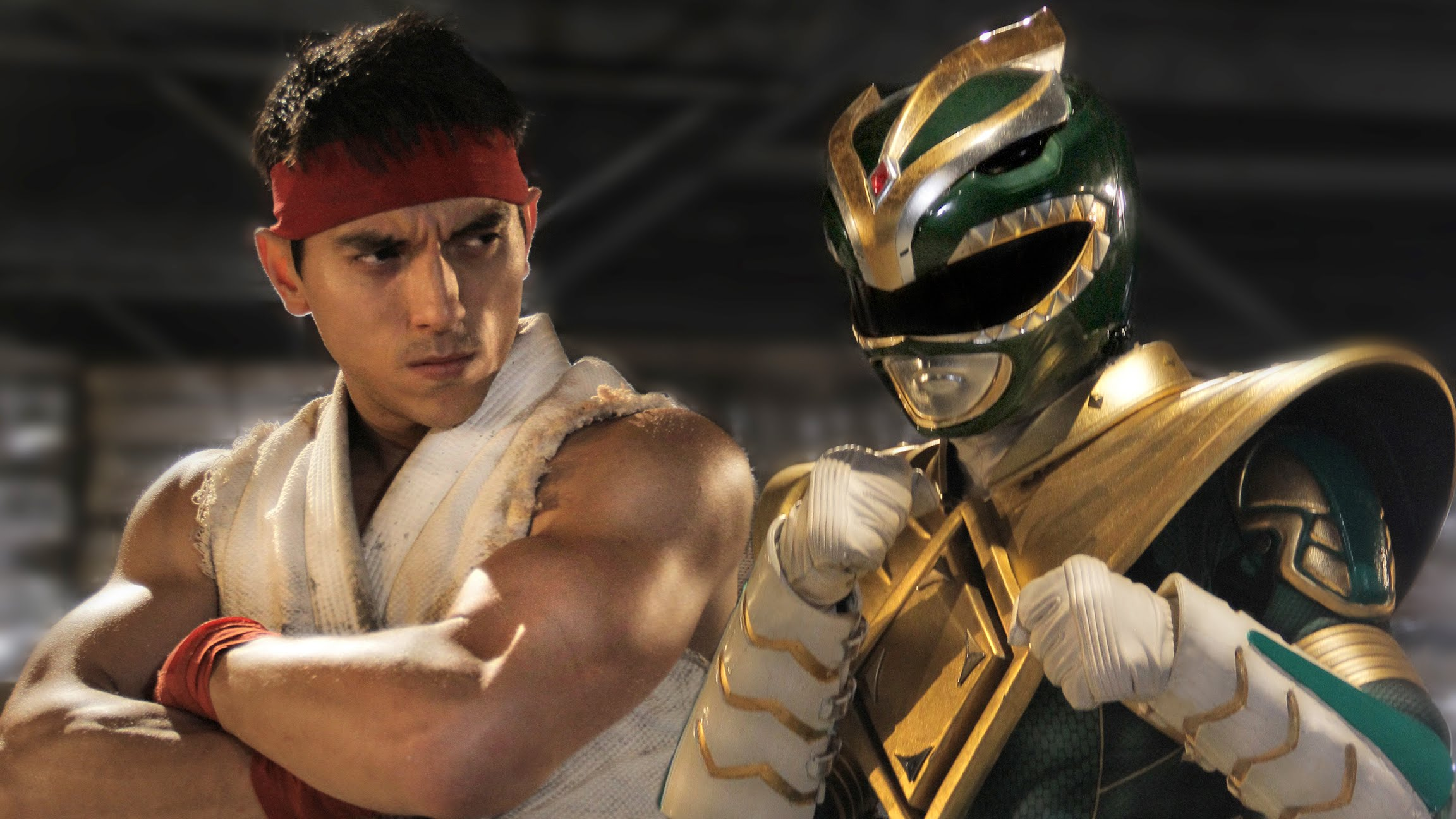 """Super Power Beat Down"" Ryu vs. Green Ranger 