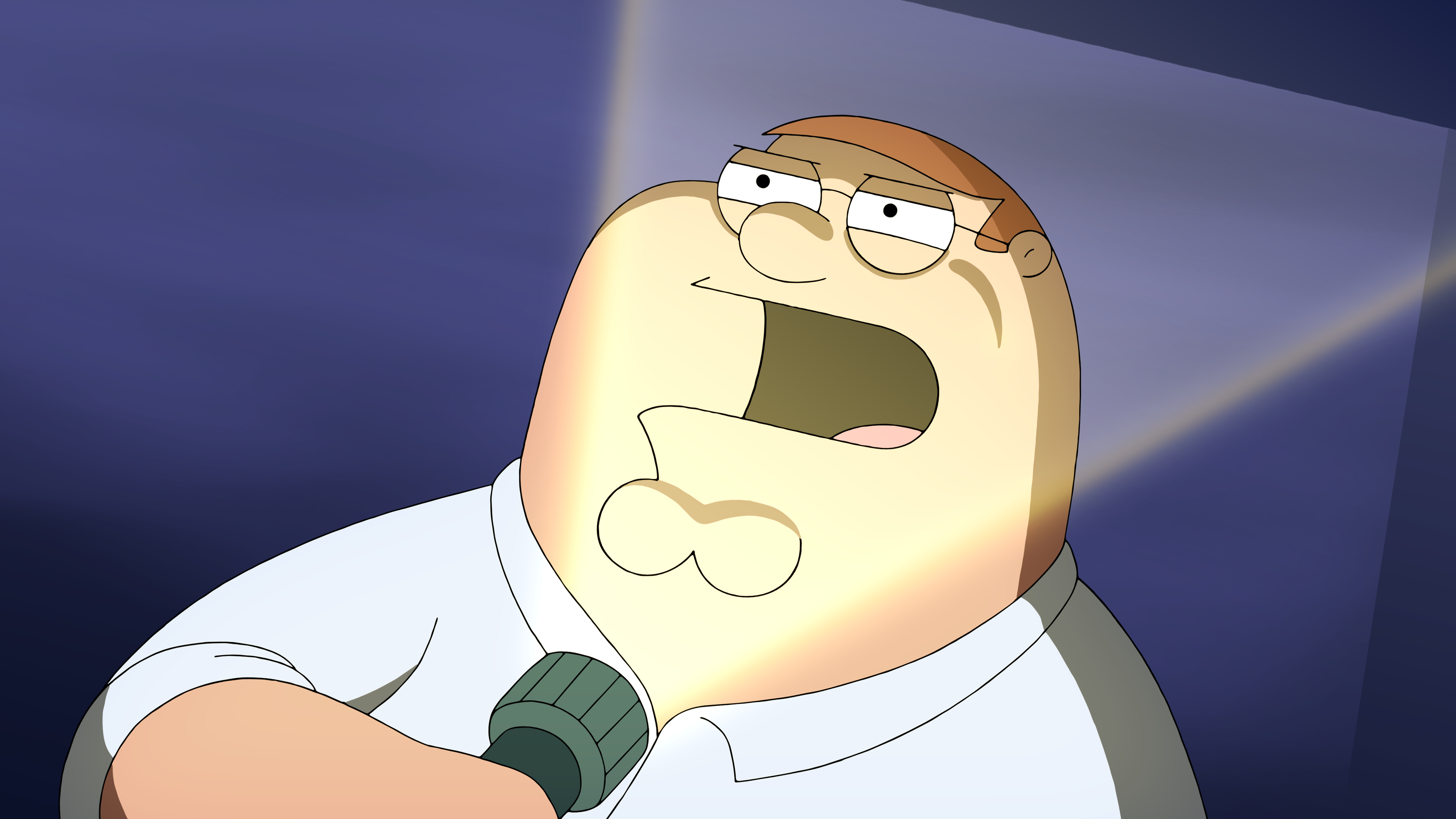 """Family Guy"" Peternormal Activity"