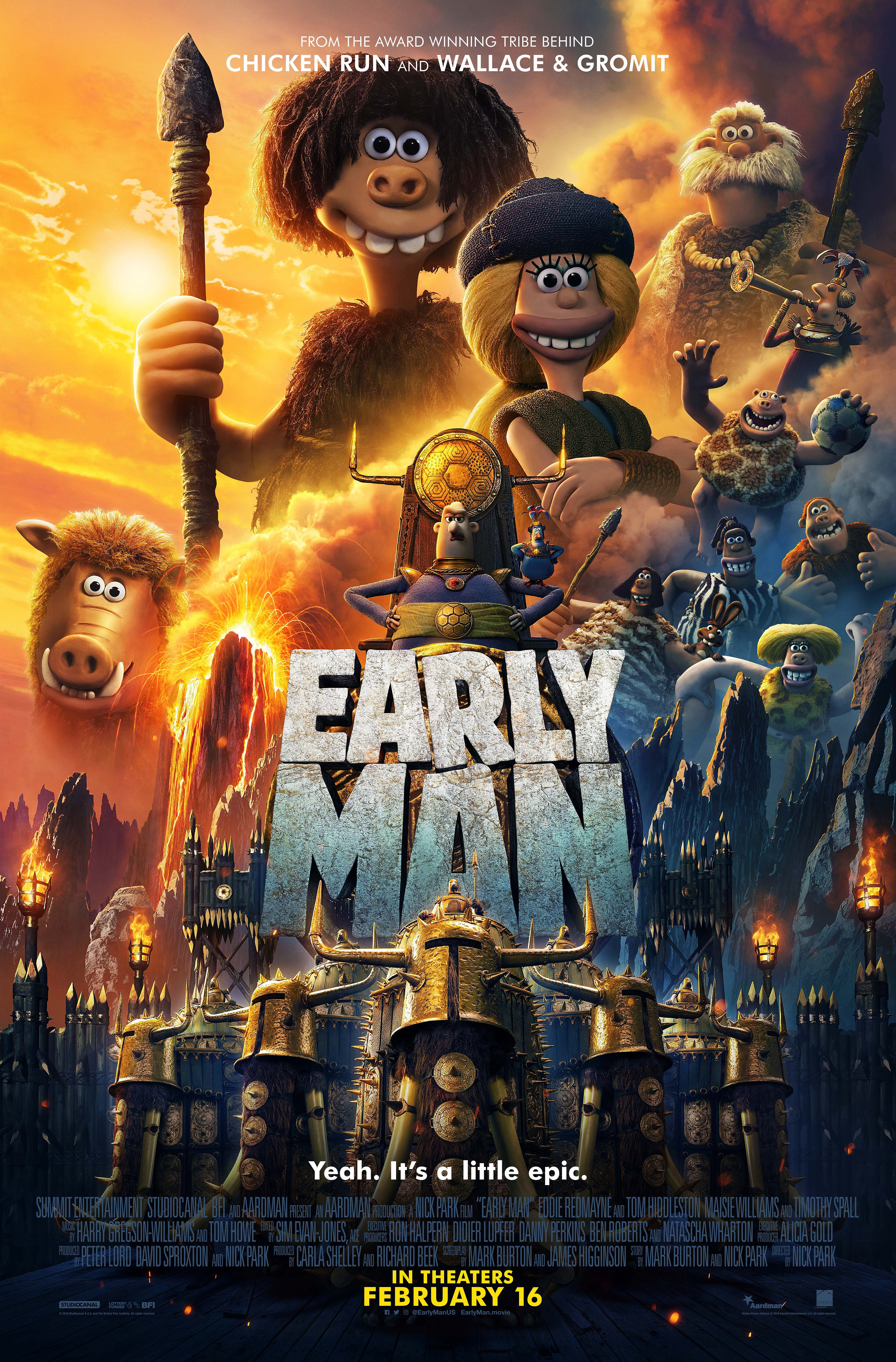 Early Man (2018)  Technical Specifications