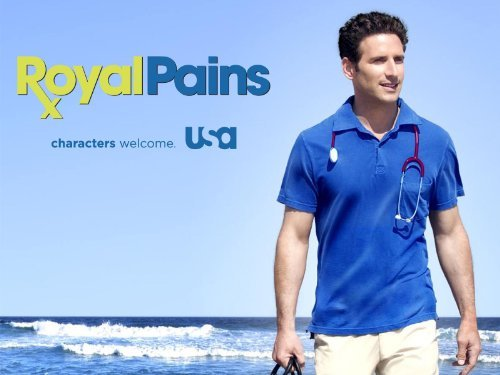 """Royal Pains"" Playing Doctor 