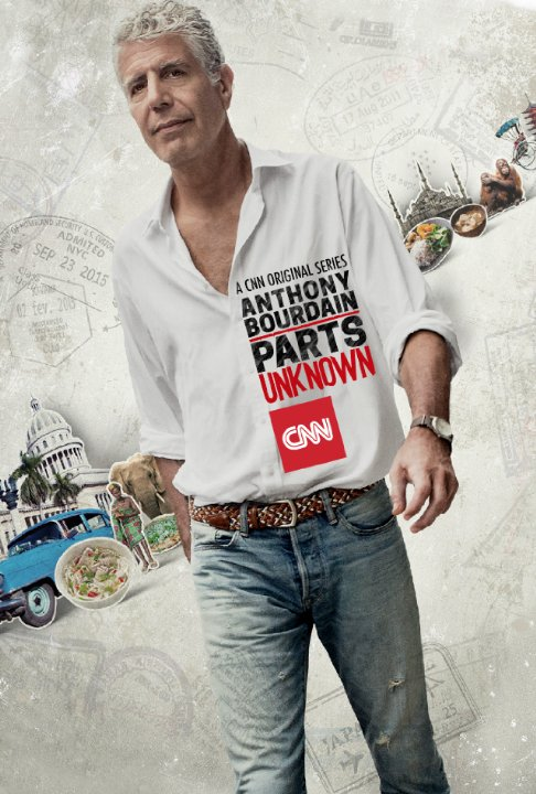 """Anthony Bourdain: Parts Unknown"" Bay Area Technical Specifications"