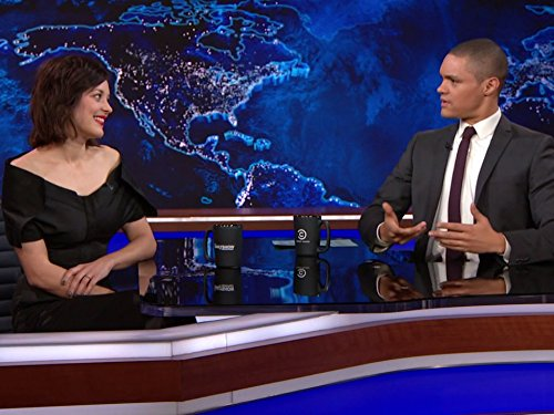 """The Daily Show"" Marion Cotillard"