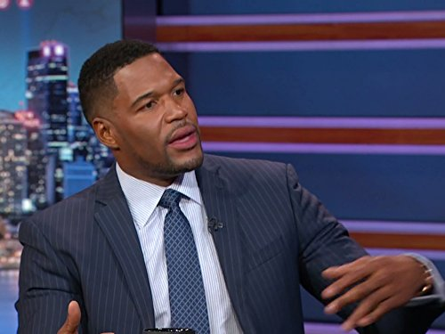 """The Daily Show"" Michael Strahan"