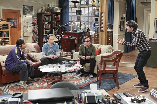 """The Big Bang Theory"" The Positive Negative Reaction Technical Specifications"