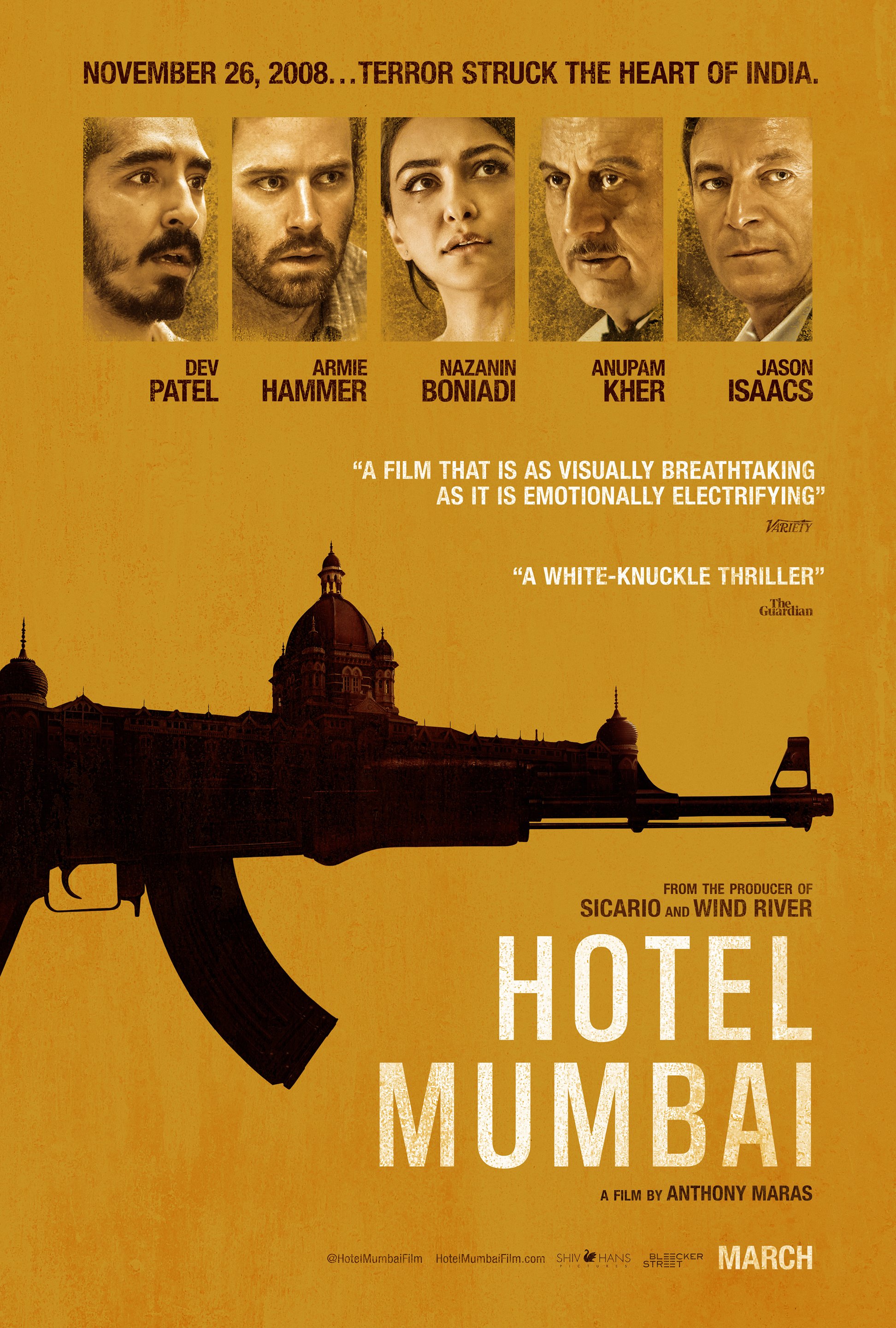 Hotel Mumbai (2018)  Technical Specifications