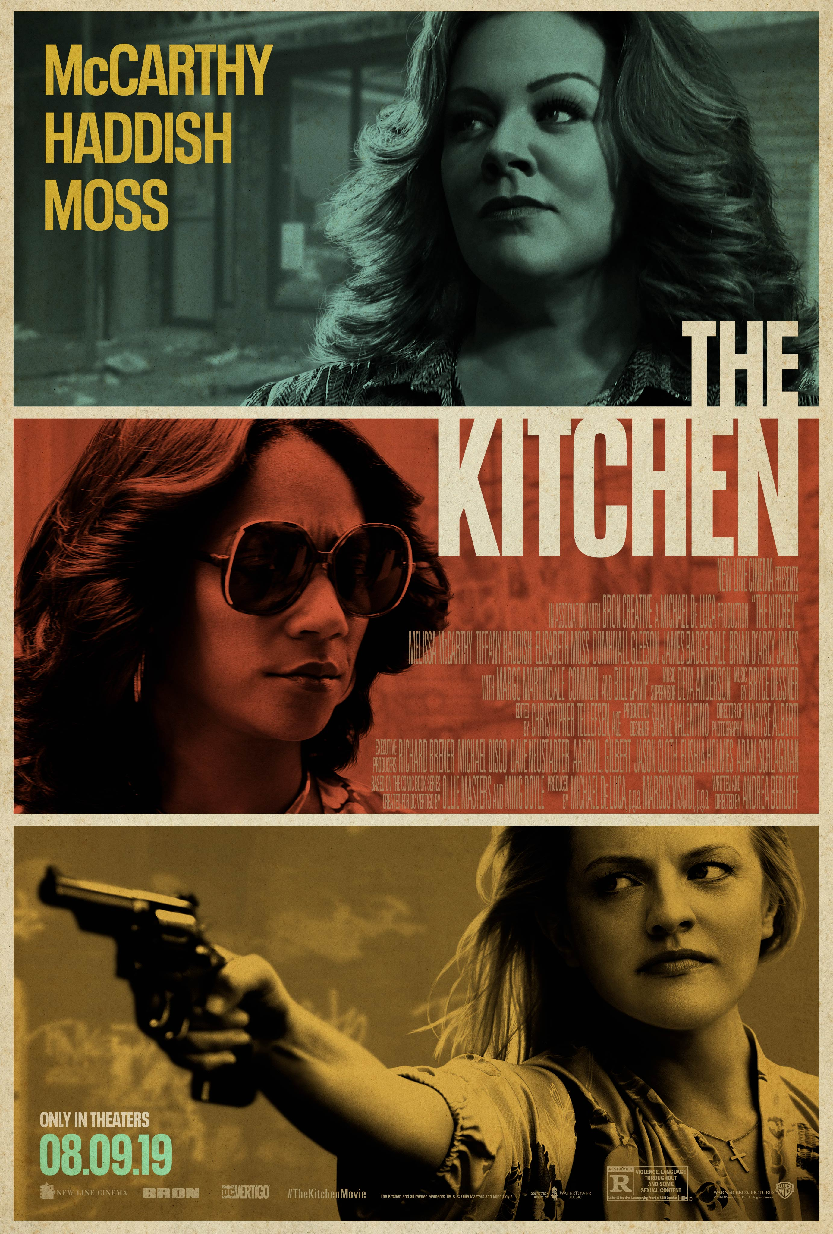 The Kitchen (2019)  Technical Specifications