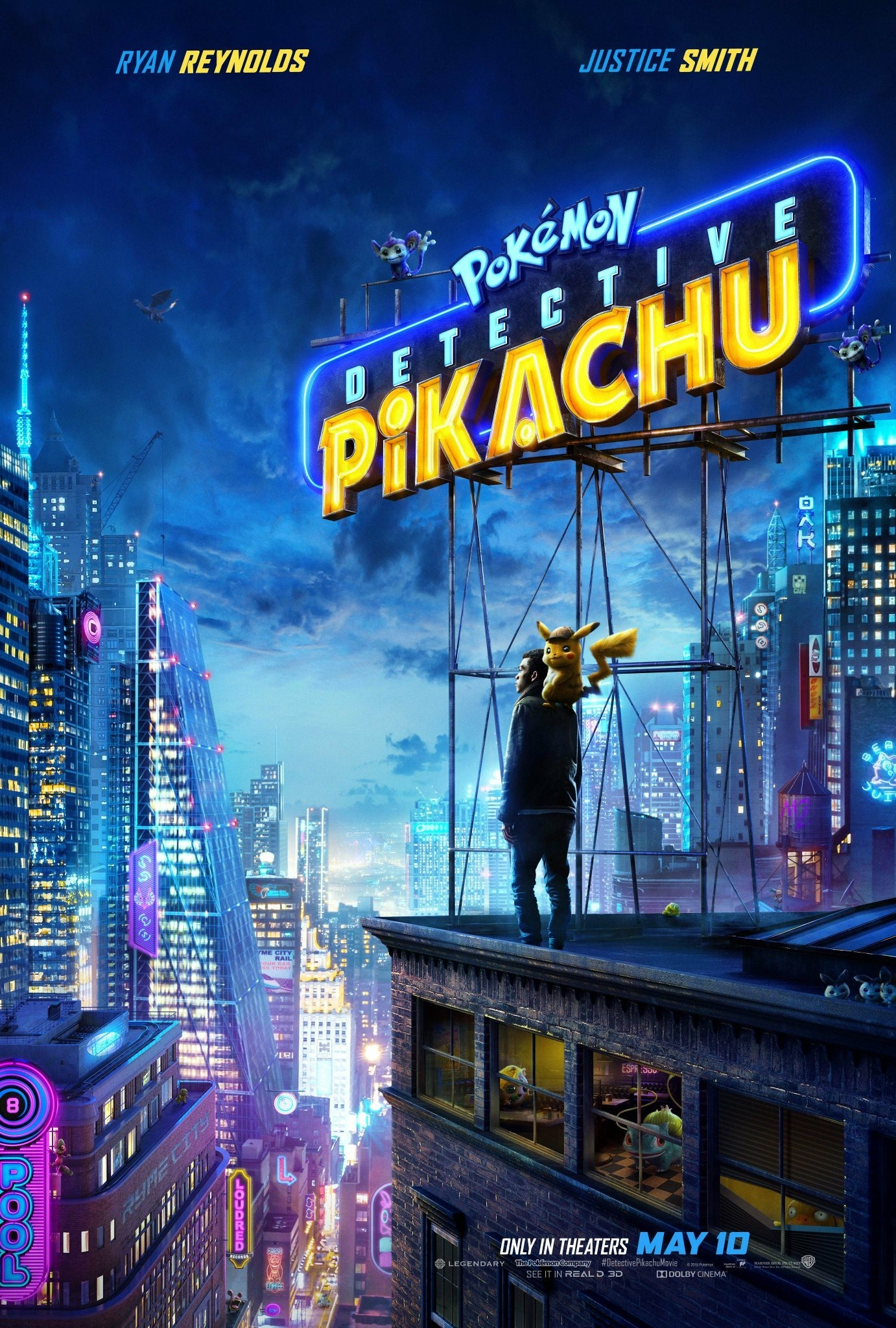 Pokémon Detective Pikachu (2019)  Technical Specifications