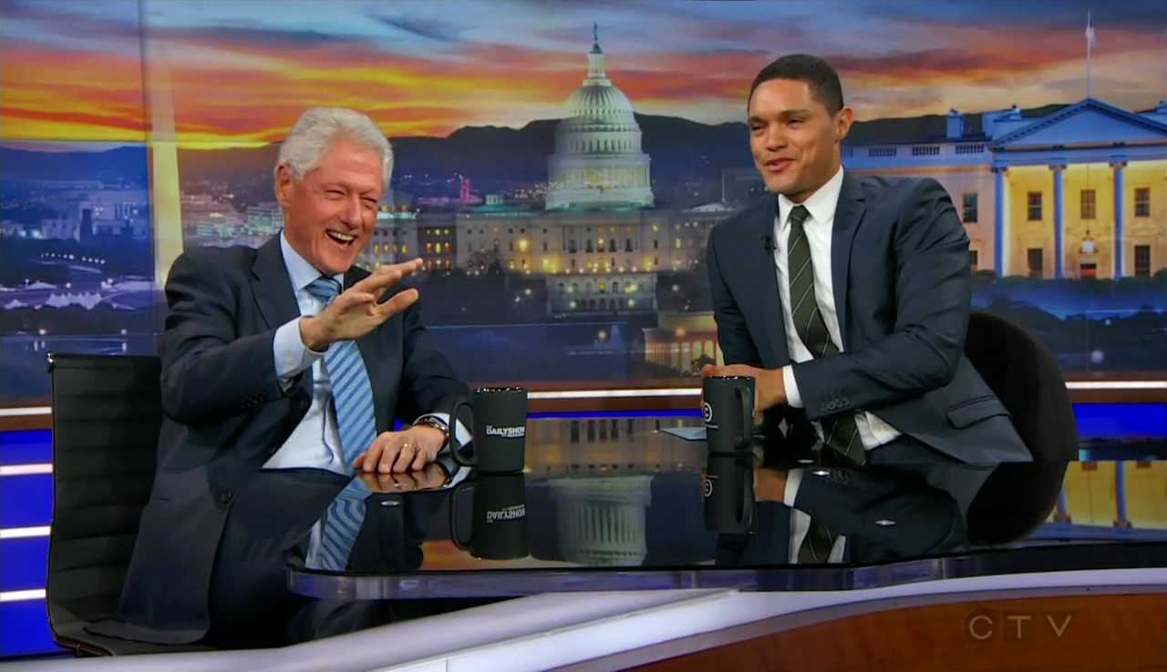 """The Daily Show"" Bill Clinton"