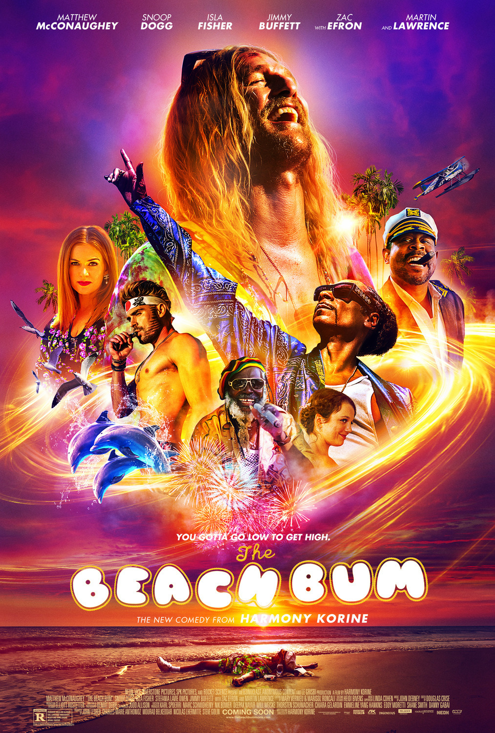The Beach Bum (2019)  Technical Specifications