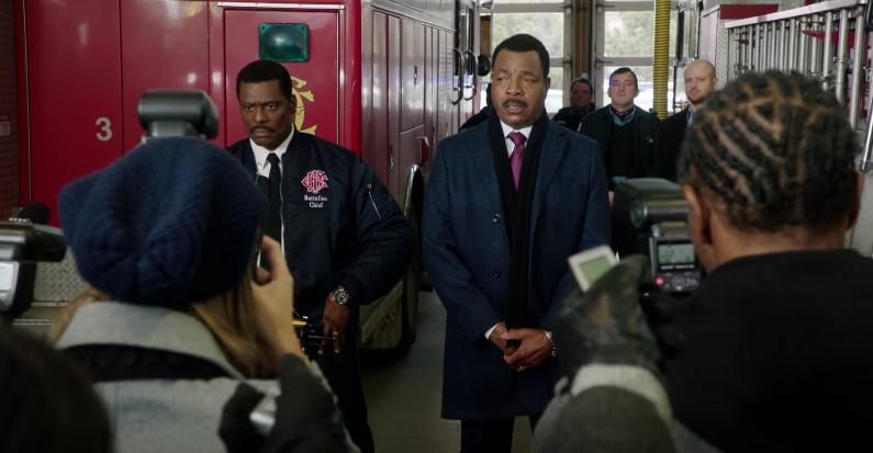 """Chicago Fire"" Deathtrap 