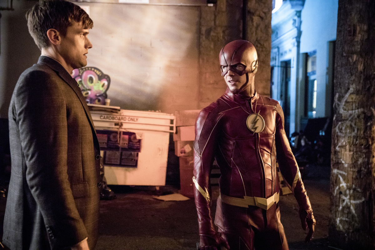 """The Flash"" Elongated Journey Into Night 