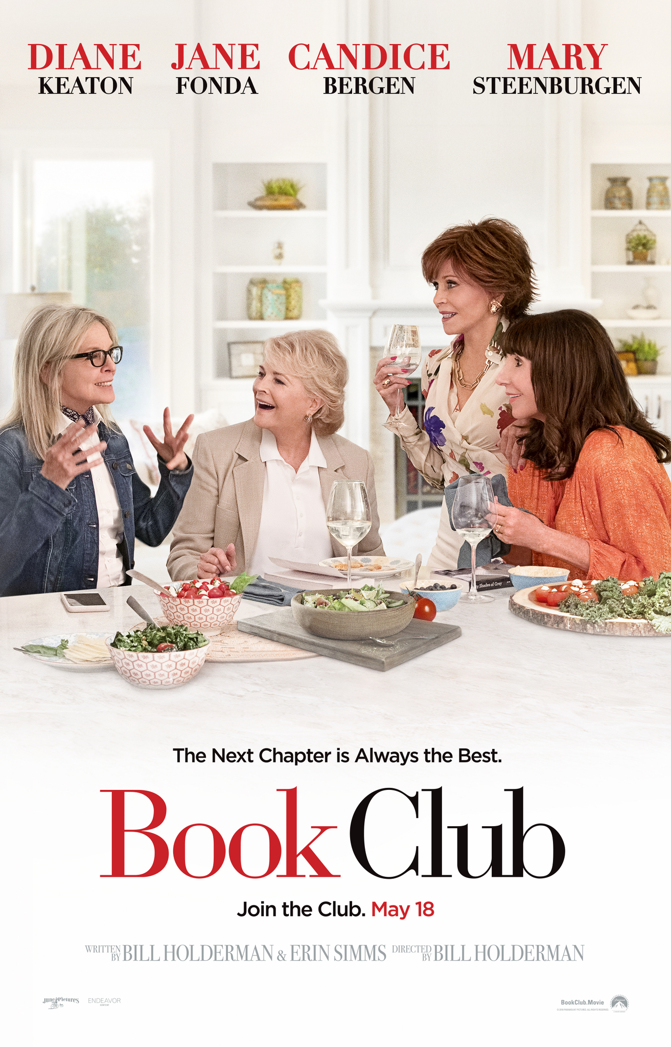 Book Club (2018)  Technical Specifications