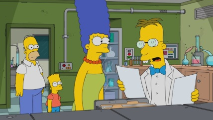 """The Simpsons"" Frink Gets Testy Technical Specifications"