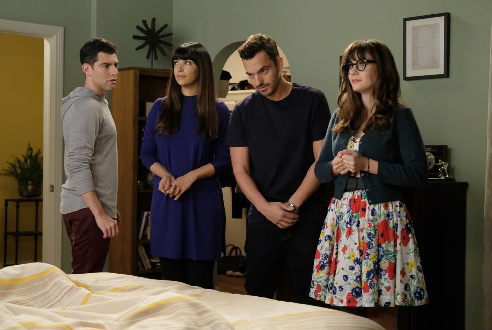 """New Girl"" Godparents 