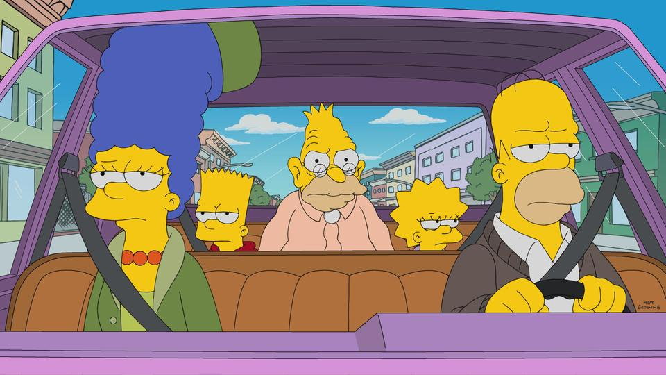 """The Simpsons"" Grampy Can Ya Hear Me"