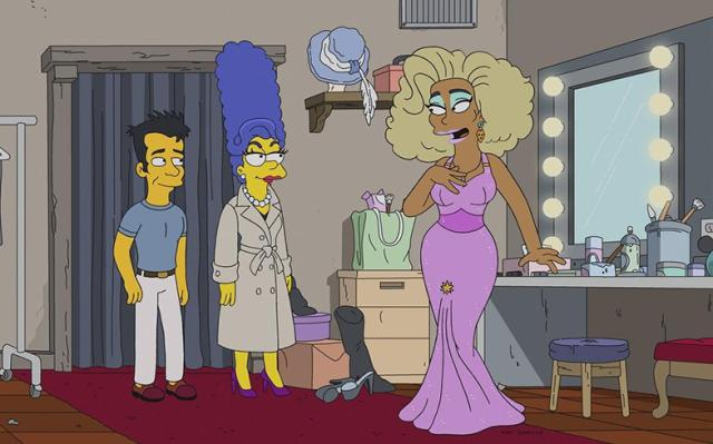 """The Simpsons"" Werking Mom"