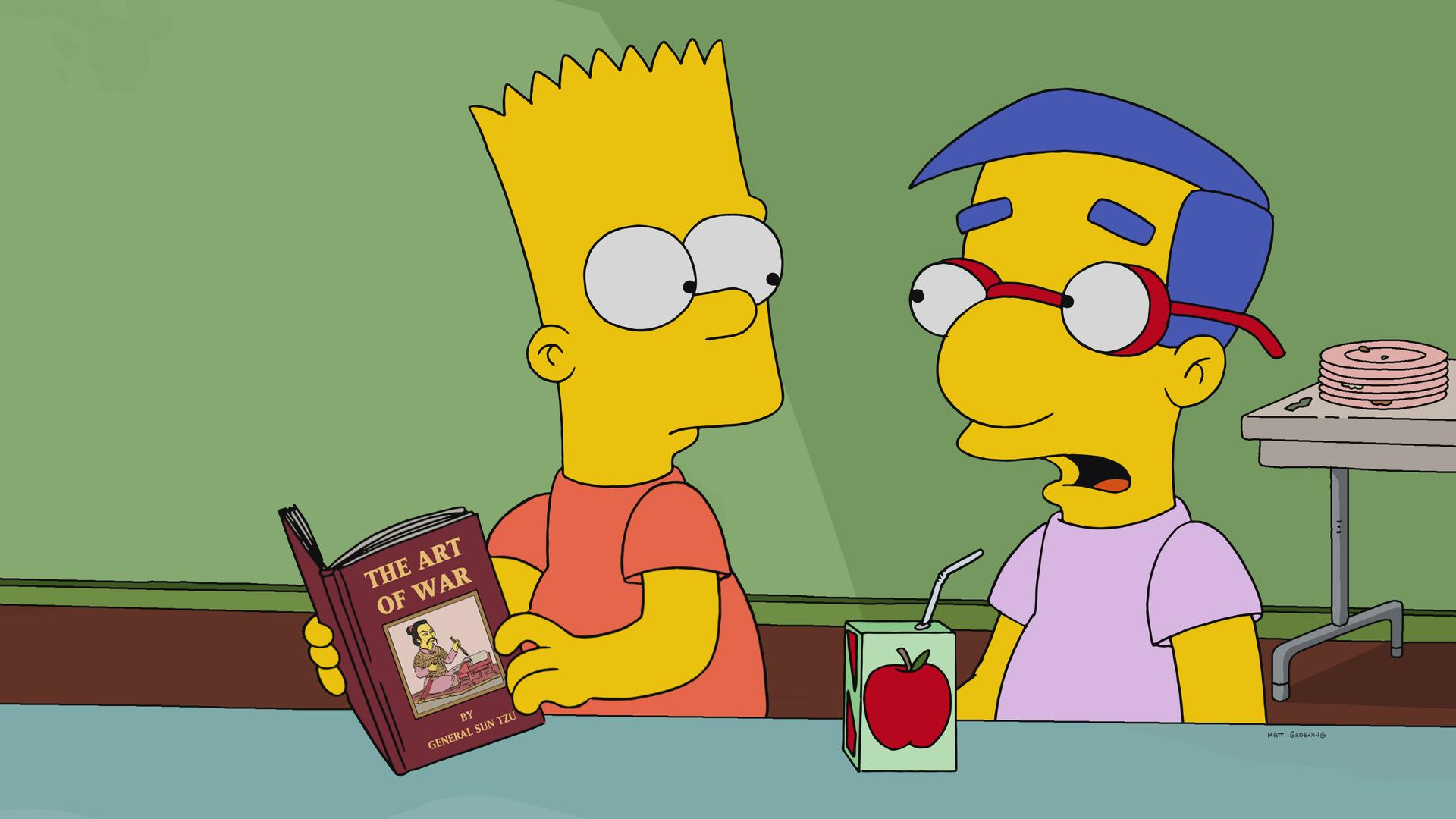 """The Simpsons"" No Good Read Goes Unpunished"