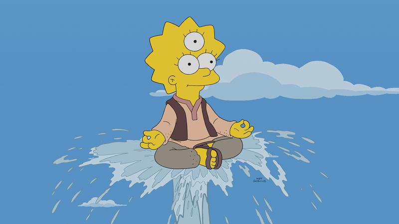 """The Simpsons"" My Way or the Highway to Heaven"